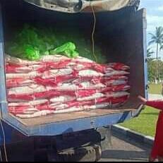 Bantuan Pemkab.Seruyan Untuk Warga Terdampak Banjir Disalurkan, Beras 25 Ton