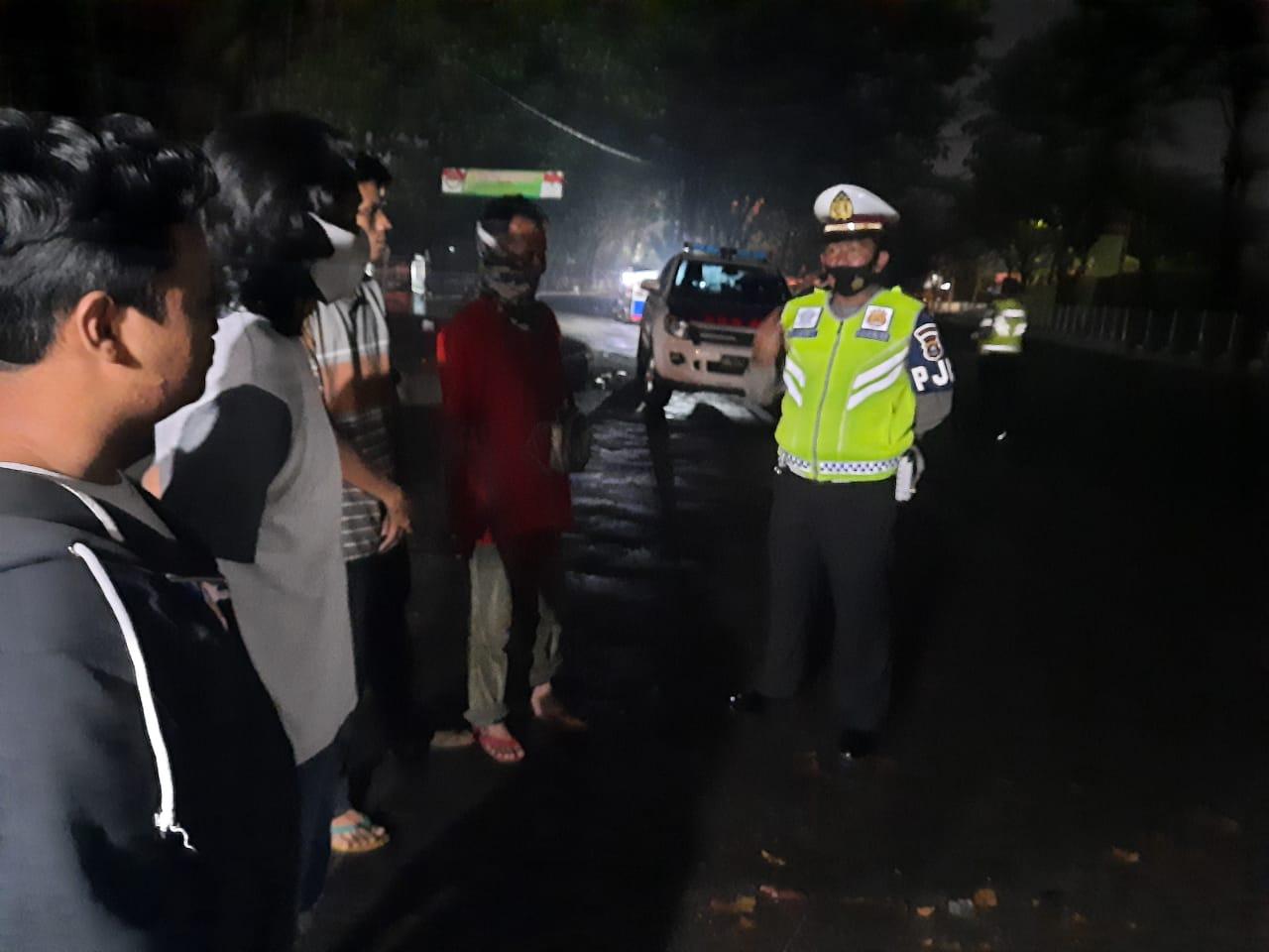 Ditlantas Polda Banten Lakukan Patroli Dialogis