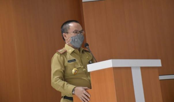 Sekda Saipul Hadiri Rapat Pendahuluan dan Pengawasan Inspektorat Provinsi Lampung