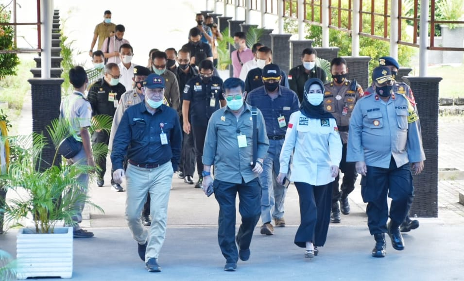 Kedatangan Mentan RI ke Kalteng Disambut Sekda Fahrizal Fitri