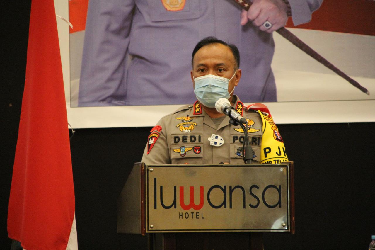Siap Amankan Pilkada, Polda Kalteng Lakukan Pembinaan dan Peningkatan Bhabinkamtibmas