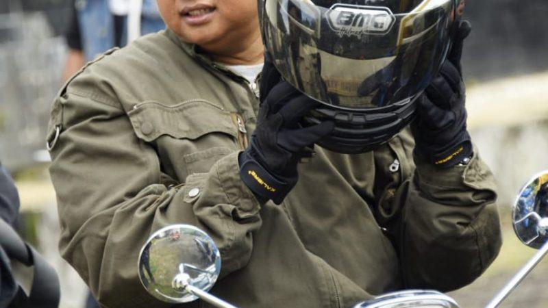 Uu Ruzhanul Ajak Komunitas Otomotif Hargai Pengguna Jalan Saat Tur
