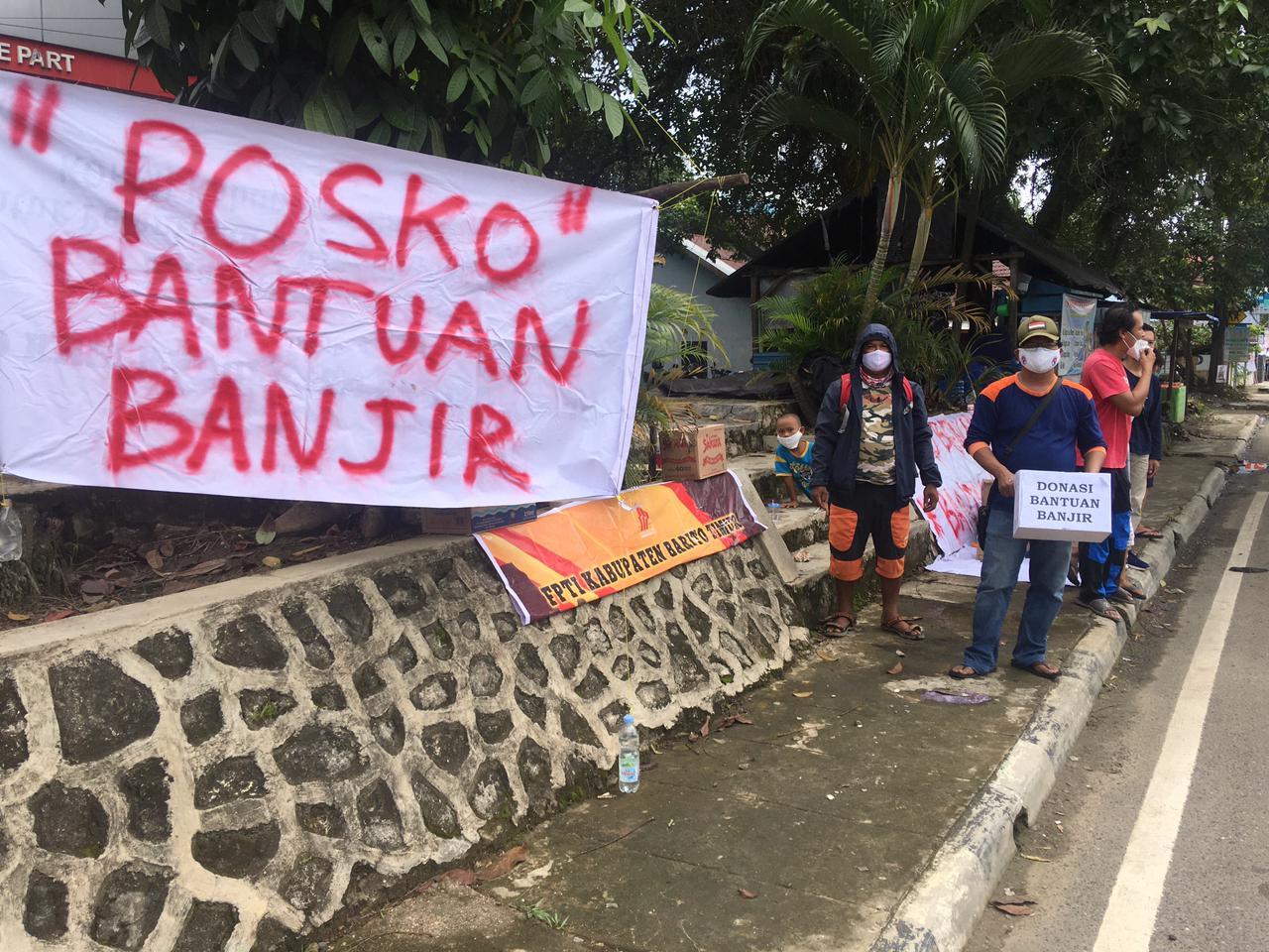 Edukasi FPTI Bartim,  Bantu Kemanusiaan Musibah Banjir