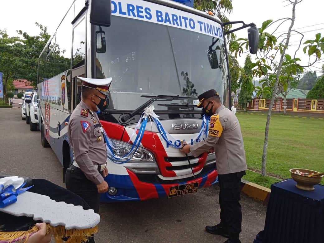 Pelayanan Prima Polres Bartim Luncurkan SIM Keliling