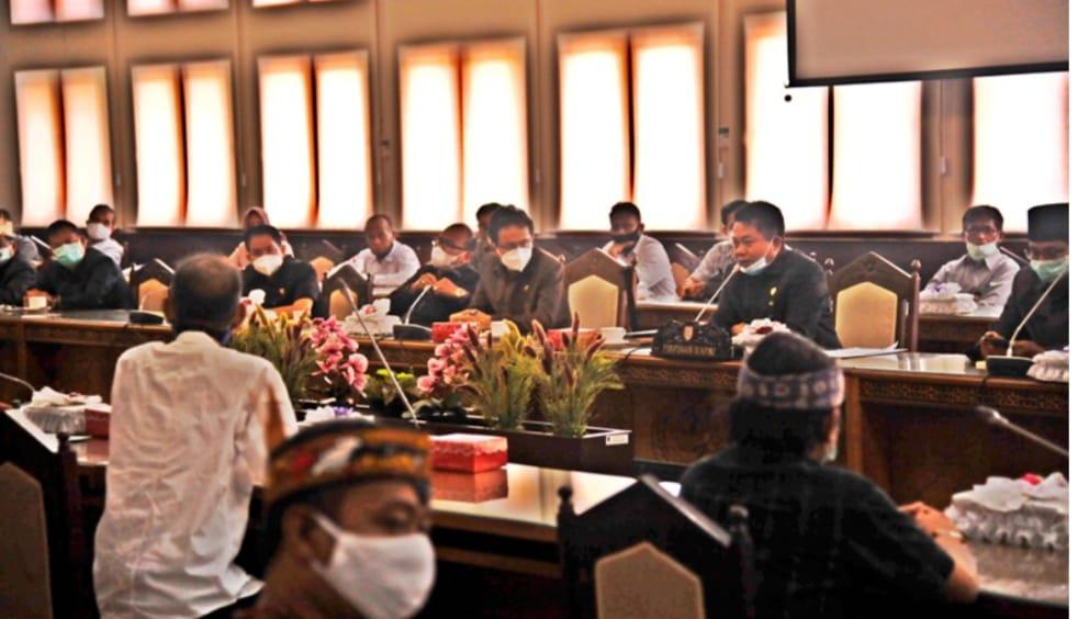 DOB Provinsi Kotawaringin Pernah Diajukan 10 Tahun Lalu, AMPKT Bersama DPRD Kalteng Di Evaluasi