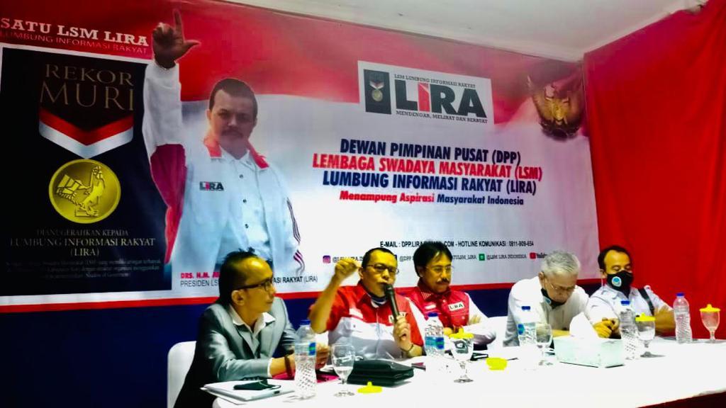Presiden LSM LIRA HM, Jusuf Rizal Angkat Bicara Terkait Calon Sekda Garut