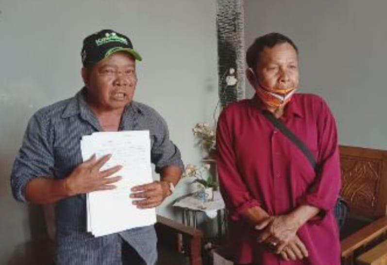 Warga Tuntut Kades Ds. Tunggal Dana Plasma Kelapa Sawit