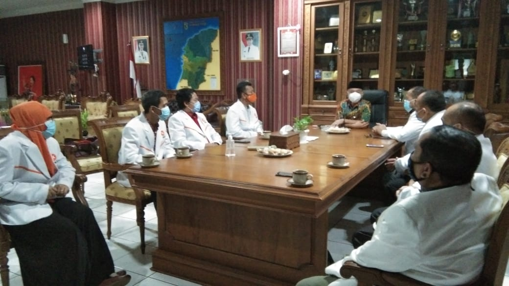 PKS Jepara Usulkan Penambahan Ruang Isolasi Dan Alat Bantu Pernafasan HFNC di RSUD Kartini Jepara