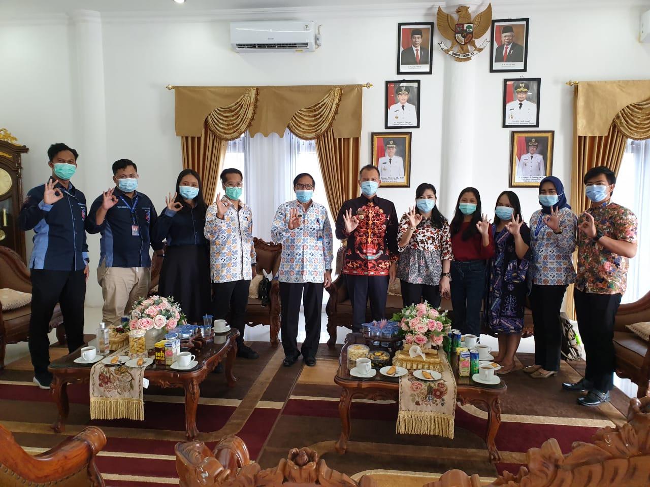 Audiensi Forum GenRe bersama Bupati Gunung Mas sebagai Ayah dan Bunda GenRe Provinsi Kalimantan Tengah