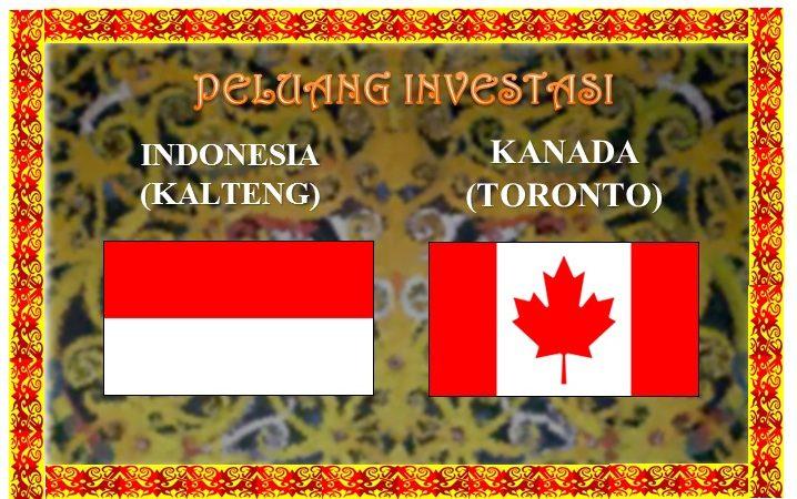Perusahaan Kanada Masuk Kalteng, Sektor Investasi Teknologi