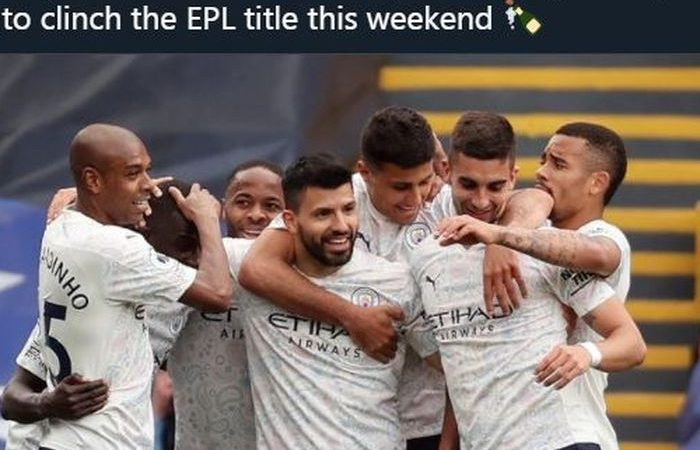 Liga Inggris: Bantai Crystal Palace 2-0, Manchester City