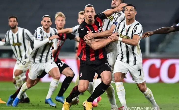 Juventus terancam tak masuk empat besar, Dikalahankan Milan