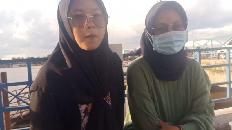 Santai Hari ketiga Idul Fitri, Di Pelabuhan Rambang Palangka Raya