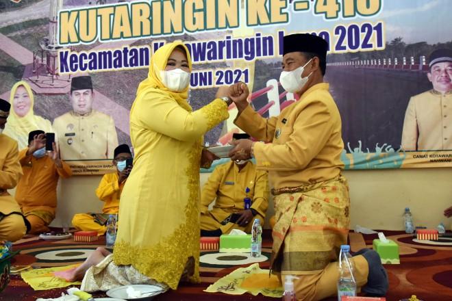 Bupati Hj Nurhidayah Ajak Kembangkan Budaya Lokal, Di Hari Jadi Ke – 418.