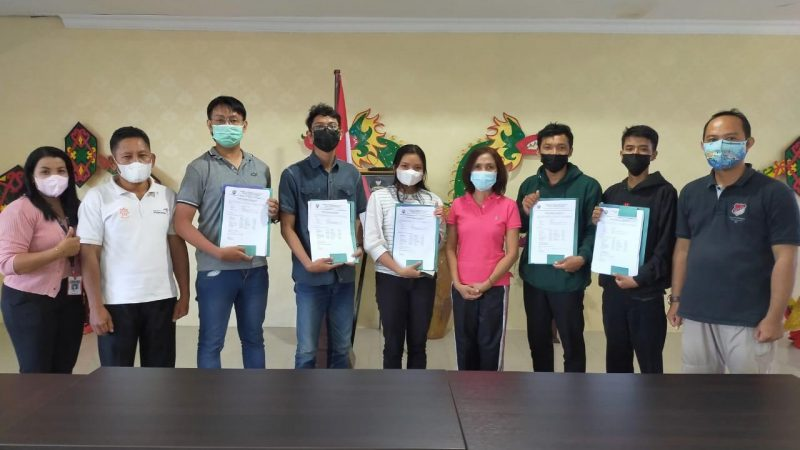 Lima Putra Putri Terbaik Kalteng Lolos Seleksi Pelayaran Jalur Rempah 2021