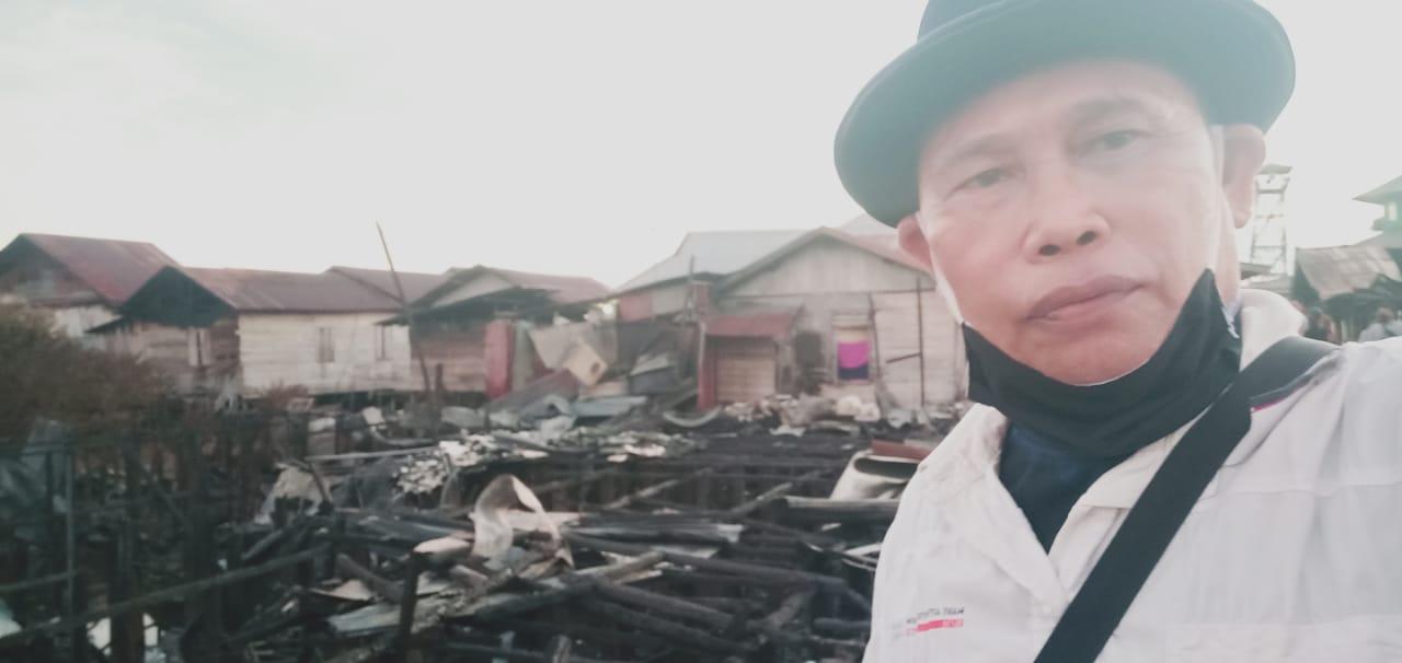 Lintas Organisasi Pers,Ormas Dan LSM Bantu Warga Musibah Kebakaran