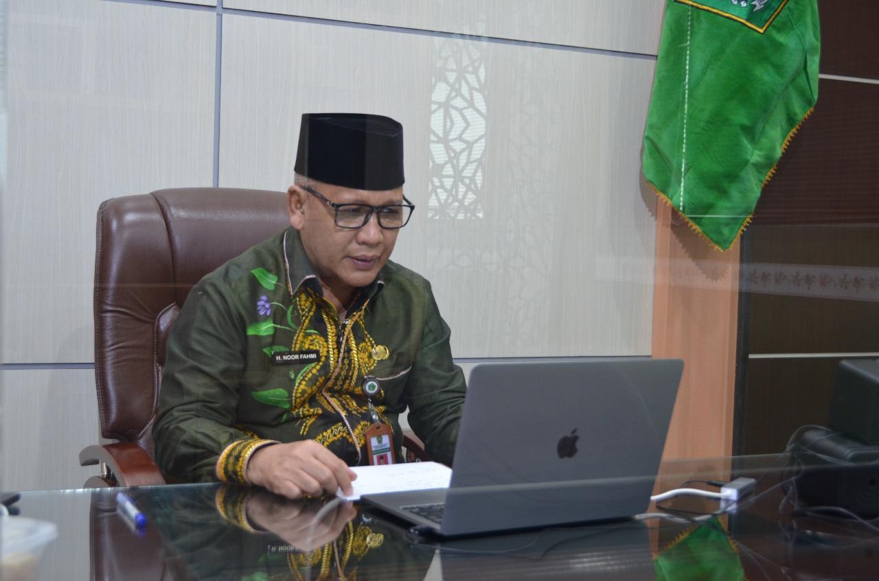 Hewan Kurban di Kalteng Capai 5.468 Ekor, Ini Kata Kakanwil Kemenag, H. Noor Fahmi.
