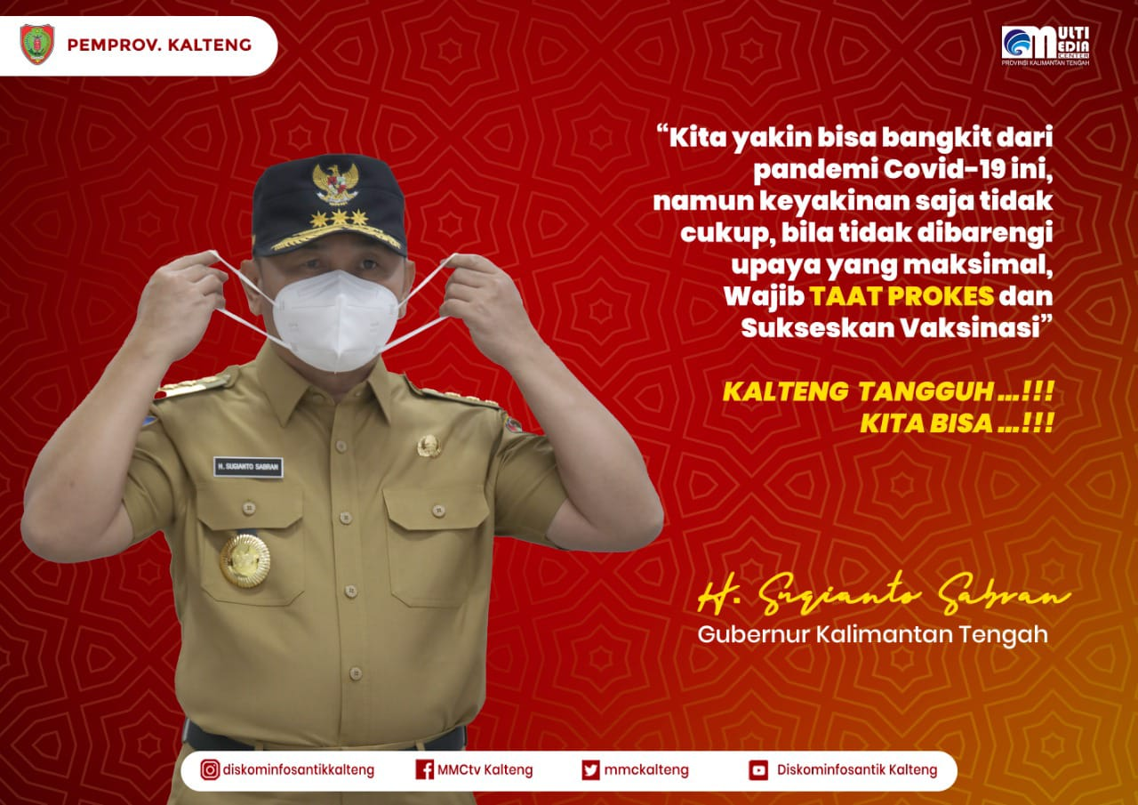 Gerakan Admin Sosmed Perangkat Daerah Bangun Narasi Positif Gubernur Kalteng H. Sugianto Sabran
