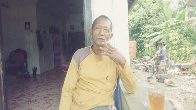 Bensauw UD. SAL  Di Desa Sei Rahayu Km 52 Diduga  Kelompok Tani Sebagai Tameng.