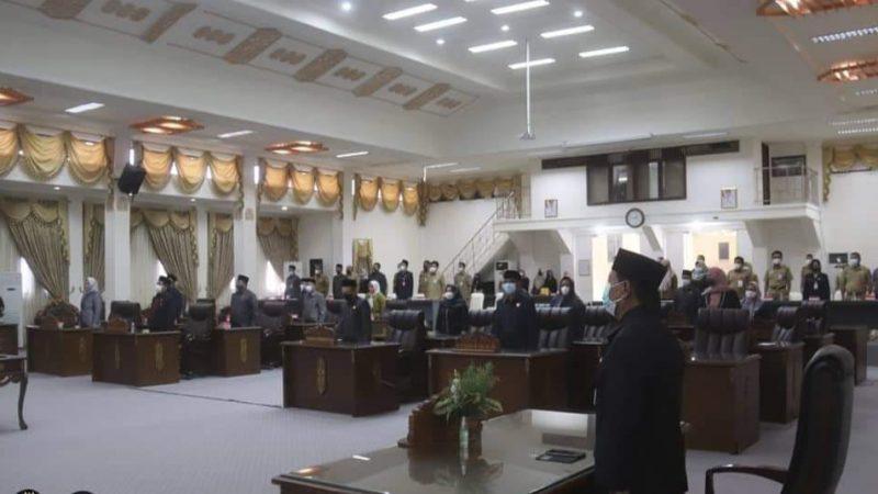 Pemkab Barito Utara Dan DPRD Tandatangani Nota Kesepakatan Rancangan Perubahan KUA & PPAS
