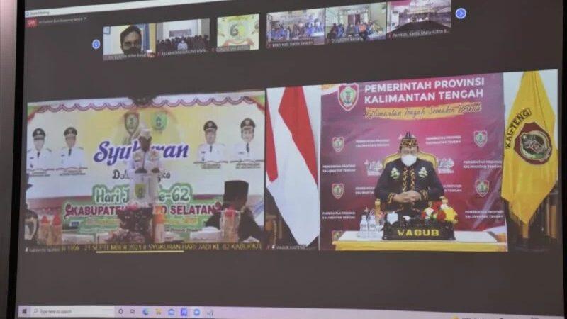 Kabupaten Barito Selatan Meraih WTP 4 Kali Berturut-Turut.