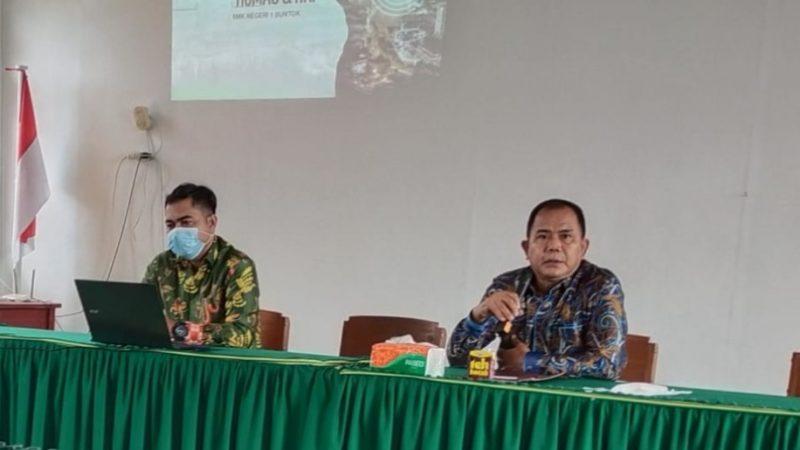 Joko Lelono : Persiapan PKL Bagi Siswa  Siswi SMKN 1 Buntok, Tuntaskan Vaksinasi Pelajar.