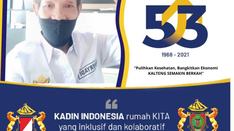 Harjad Kadin ke-53, Diisi Giat Vaksinasi Covid 19 Tahap II