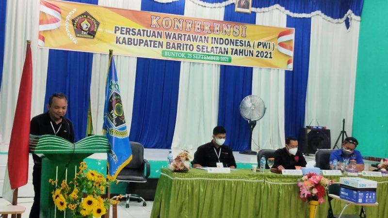 Julius M. Sinaga Nahodai DPC PWI Barito Selatan, Siap Jalankan Amanah .