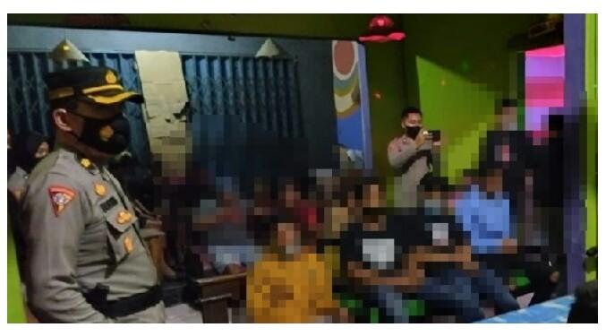 Karaoke Nekat Buka, Karyawan Dan Pengunjung Digaruk Timsus Pasopati