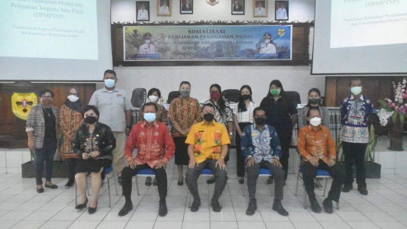 50 Pelaku UMKM Ikuti Sosialisasi Kebijakan Penanaman Modal dan Kemitraan Usaha