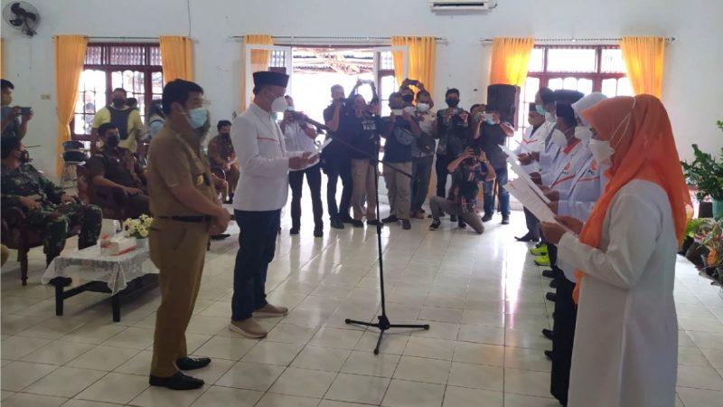 Wakil Bupati Barito Timur dilantik sebagai Ketua PKS Barito Timur oleh H. Joko Widodo
