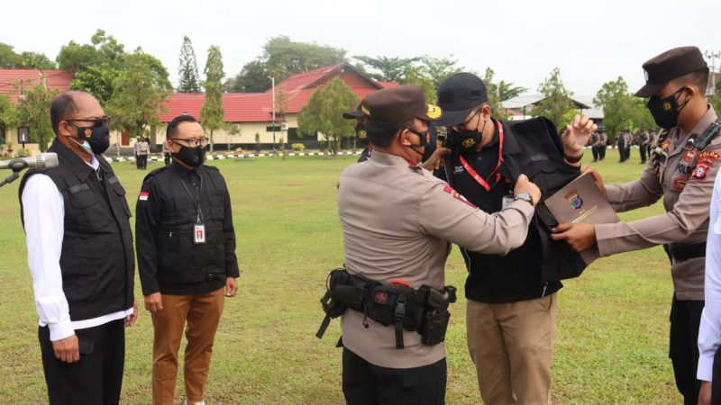 Siap Berantas Pinjam Online Illegal, Kapolda Kalteng Kukuhkan Tim Terpadu