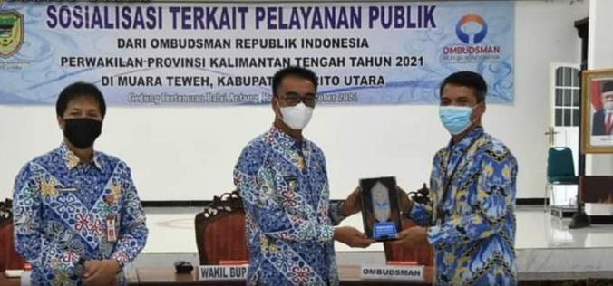Kunker Tim Ombudsman dsman RI Perwakilan Kalteng Ke Barito Utara